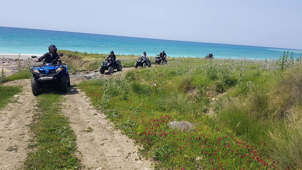 Beach Trail, Quad Bikes Sicily