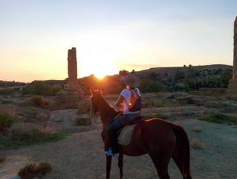 Passeggiata a Cavallo Valle dei Templi