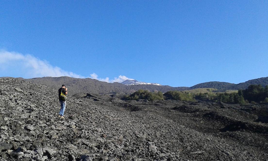 Colata lavica, Etna Trekking