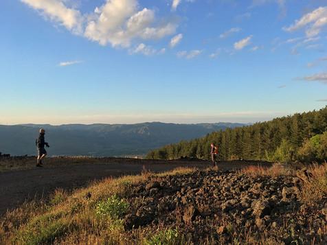 Panoramic view, Mount Etna Sunset Tour