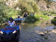 Crossing the River, Sicily Quad Bike