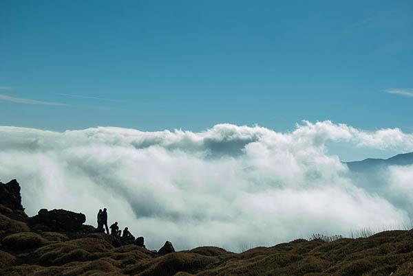Etna tours from Taormina, Clouds