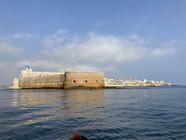 Il Castello Maniace dal mare, Tour in barca Siracusa