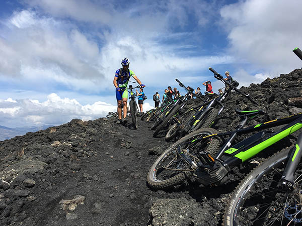 Etna Bike Tours, Single track