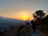 Golden Light on Mount Etna