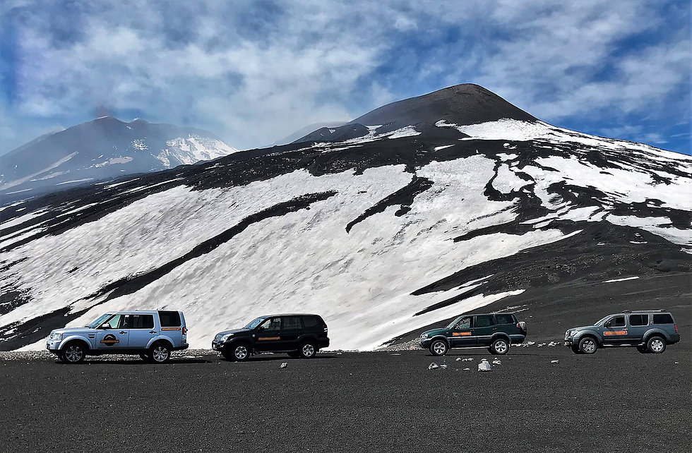 Etna Jeep Tour
