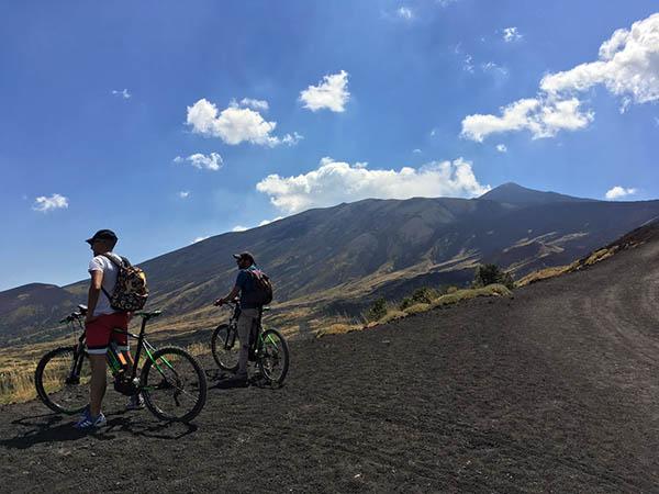 Etna, Percorsi MTB per famiglie