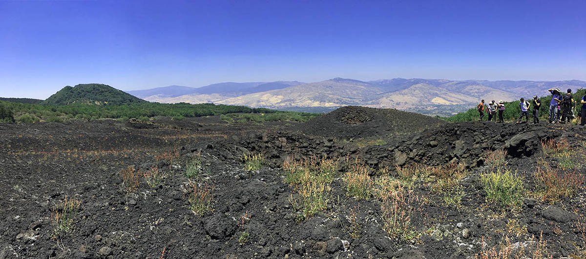 Etna Mountain Bike Tour, Views point