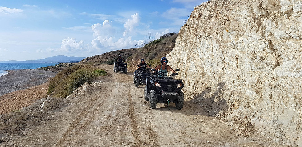 Agrigento Quad, Escursioni Quad Sicilia