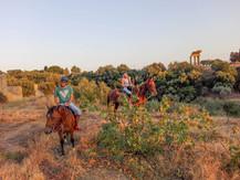 Valle dei Templi a Cavallo