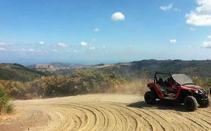 Off-road trail, ATV tour in Sicily