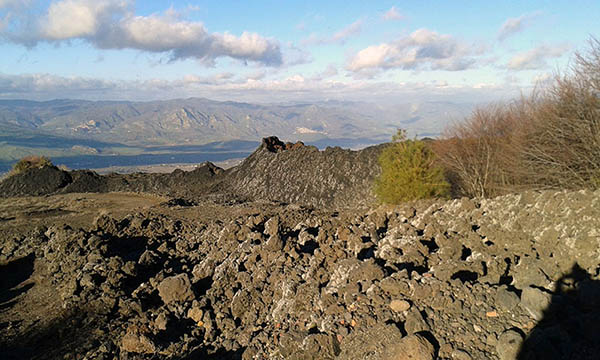 Etna guided tour, Craters