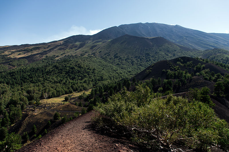 Etna Jeep Tour, Vista sull'Etna