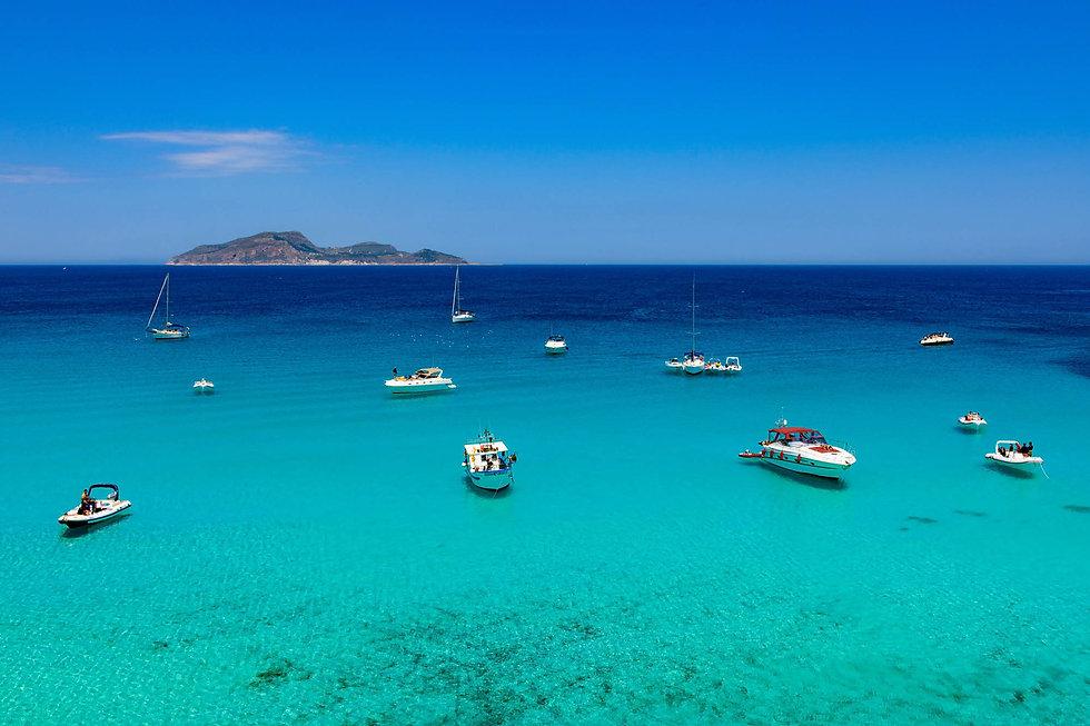 Escursione in Barca Favignana, Egadi, Sicilia