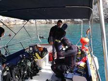 Fasi di preparazione, Diving Sicilia
