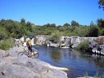 Lungo il fiume, Escursione eBike Sicilia
