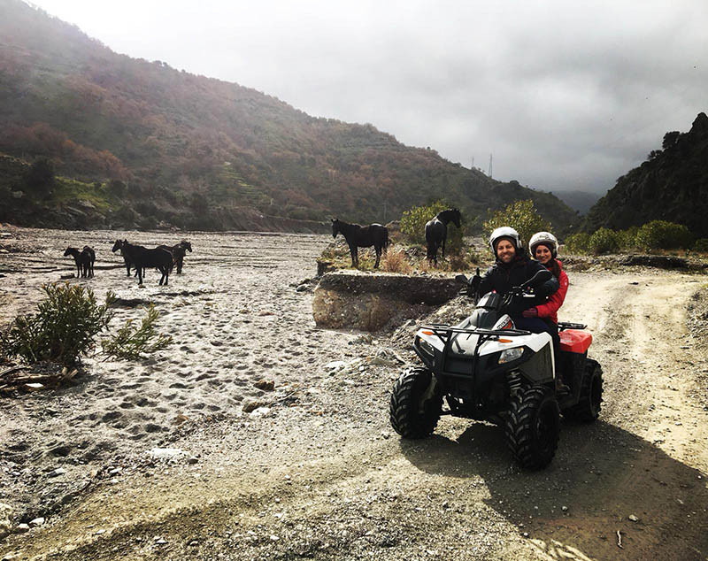 River, Sicily Quad Bike Adventure