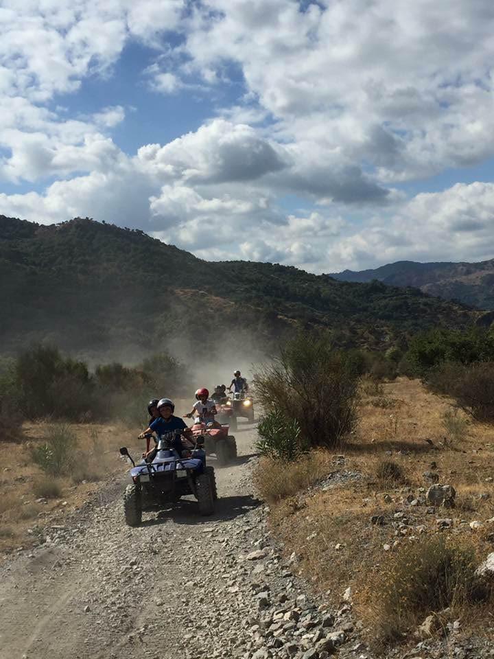 Alcantara river, Sicily Quad Tour
