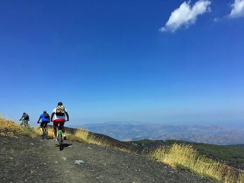 Sentiero vista Mare, Escursioni Etna MTB