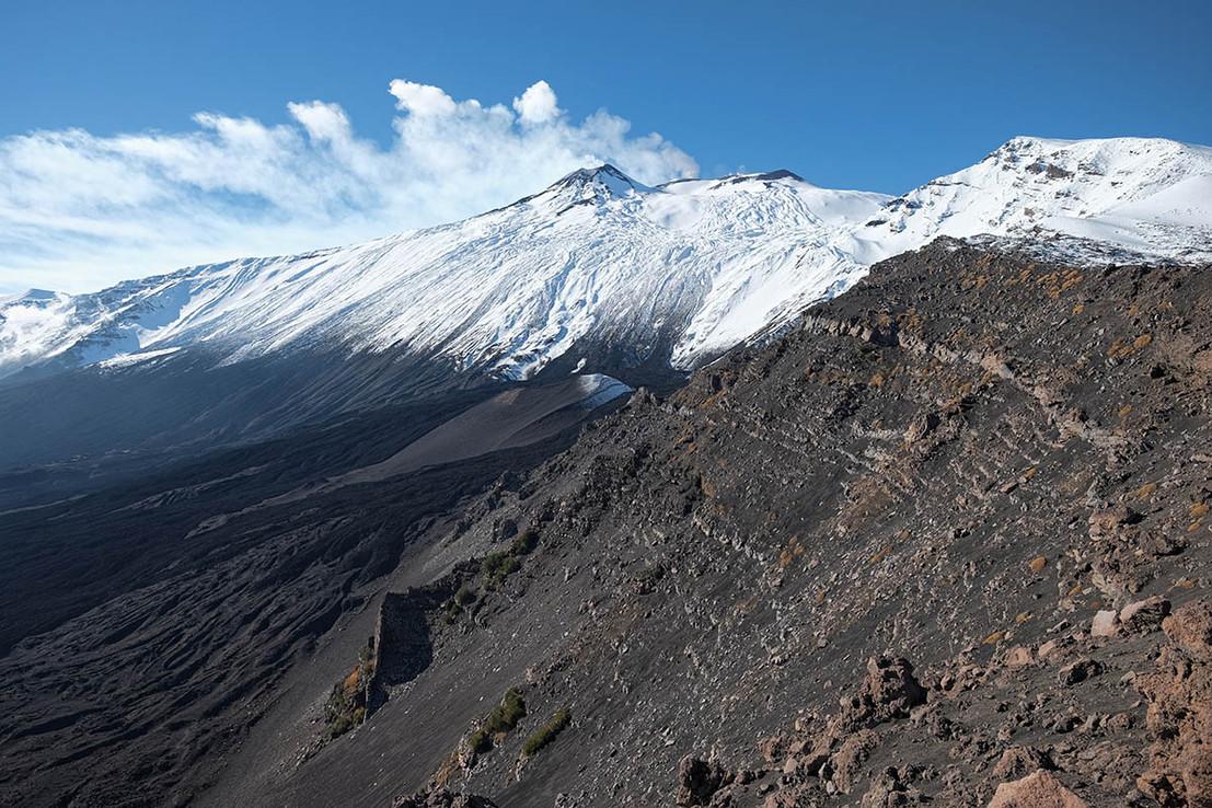 Vista Etna dalla Valle del Bove
