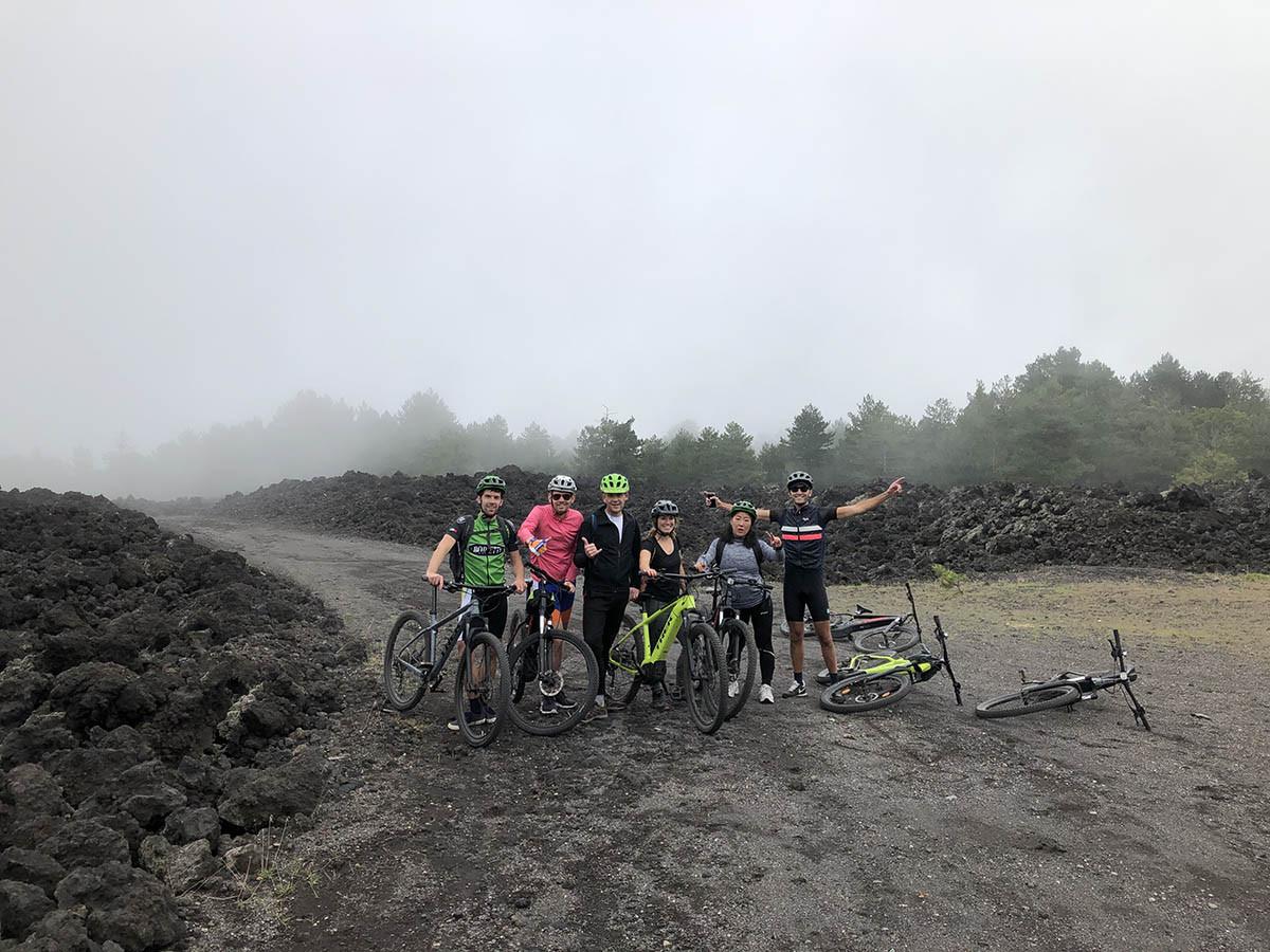 Etna in eBike, Escursioni