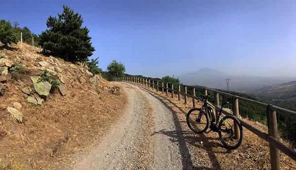 Sentiero panoramico, Nebrodi in eBike