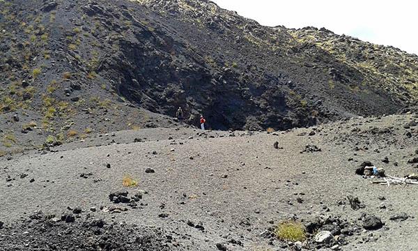 Mount Etna climb, Ice cave