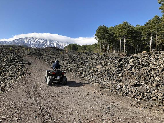 Panorama, Escursioni Quad Etna