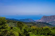 Aeolian Island view, Nebrodi hiking