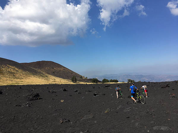 Etna Bike Tours, Massive lava flow
