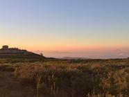 I colori di un Trekking al tramonto