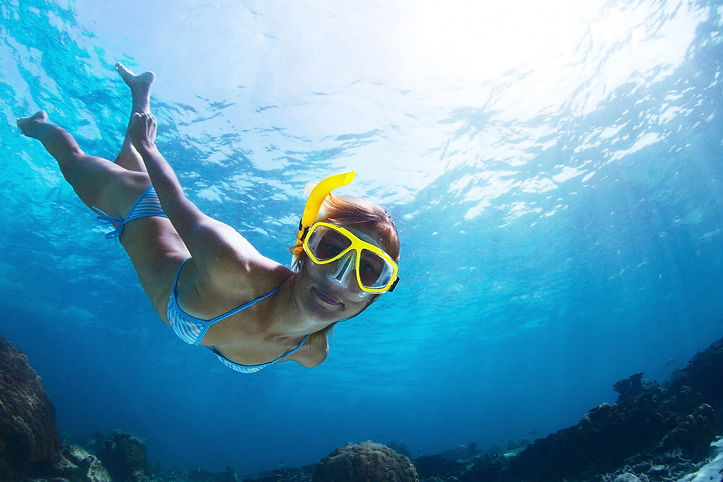Snorkeling in Sicilia