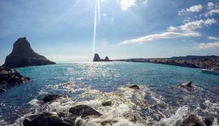 Navigazione sotto costa, Kayak Tour Catania