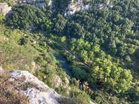 Punto panoramico sull valle, Escursioni Pantalica