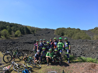 Tour Electric Bike, Etna Amazing