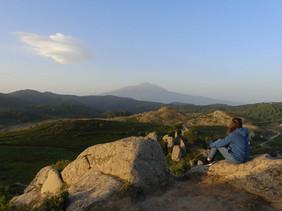 In cima ai Megaliti