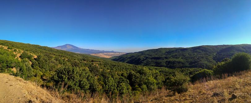Vista Etna dai Nebrodi, Nebrodi Trekking