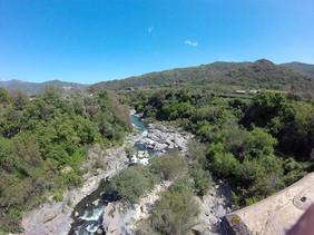 Vista del fiume, Percorsi MTB Messina
