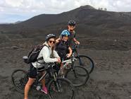 Lava field, Etna electric bike hire