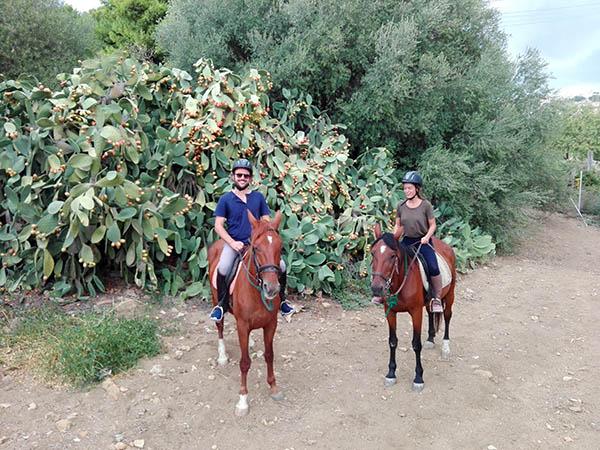 Sicily Horse Riding, Archeological