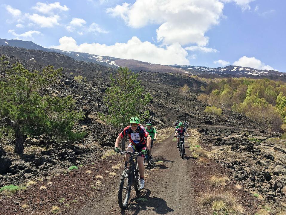 Noleggio ebike Etna, Sentieri sull'Etna