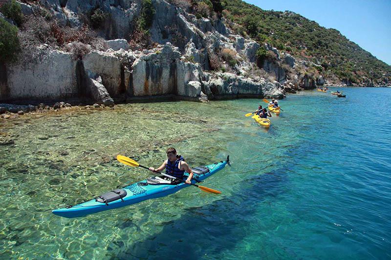 Isola Bella, Kayaking in Sicily