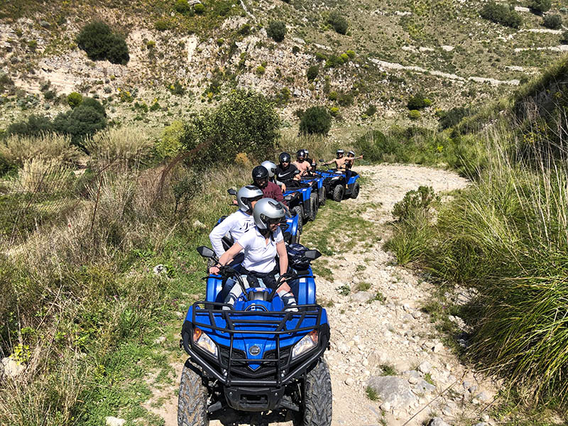 Ragusa, Sicily Quad Bike Adventure