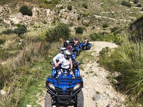 Tour in Quad Siracusa e Ragusa