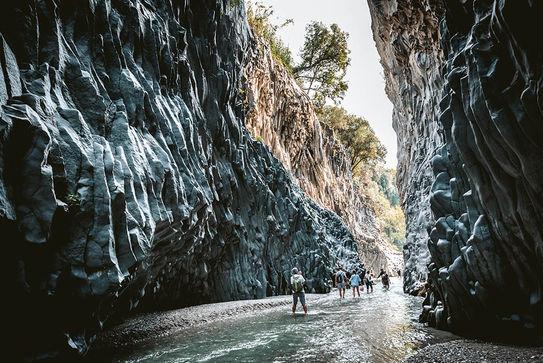 Gole dell'Alcantara, Mete Turistiche in Sicilia
