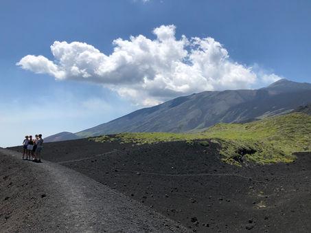 Etna Trekking, Crateri