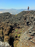 Hiking Mount Etna, Crater