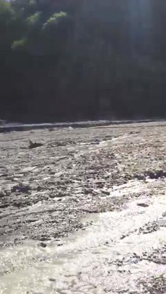 Crossing the River, Quad Alcantara Gorges