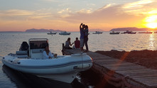 Sunset at the port, Boat Tour from Trapani