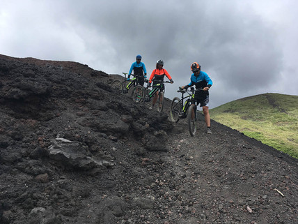 Best Cycling in Sicily, Lava trail